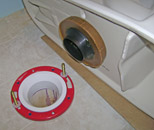 toilet seal - wax ring and flange